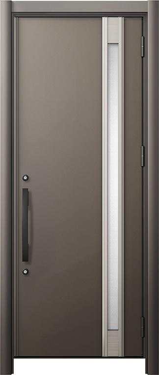玄関ドア リシェント3 断熱仕様 K4 M78型 片開きドア W:714~977mm × H:1,739~2,039mm LIXIL リクシル TOSTEM トステム
