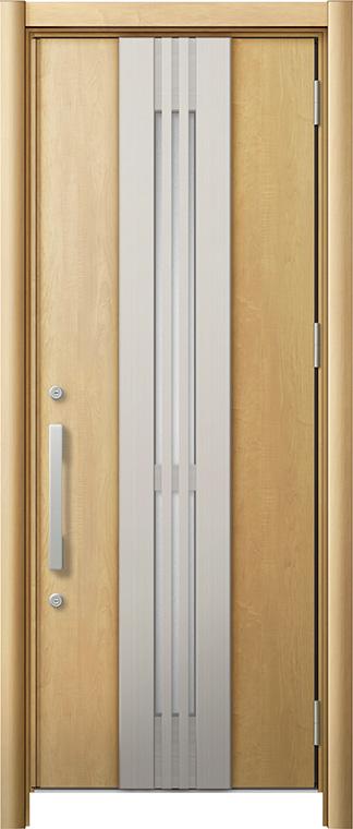 玄関ドア リシェント3 断熱仕様 K2 M84型(採風タイプ) 片開きドア W:865~977mm × H:1,840~2,039mm LIXIL リクシル TOSTEM トステム