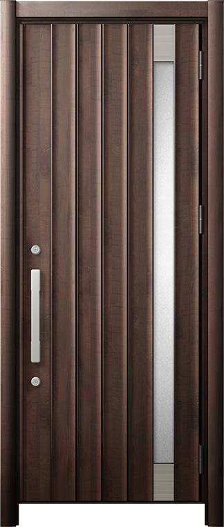 玄関ドア リシェント3 断熱仕様 K2 P77型 片開きドア W:752~864mm × H:2,040~2,439mm LIXIL リクシル TOSTEM トステム