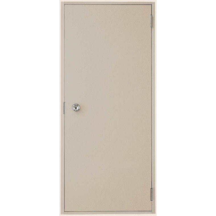 ロンカラーフラッシュドア フラット ランマなし 3方枠内付型 特注サイズ W:409~850mm × H:577~2,064mm 勝手口 LIXIL リクシル TOSTEM トステム