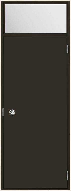ロンカラーフラッシュドア フラット ランマ付き 3方枠内付型 特注サイズ W:409~850mm × H:788~2,770mm 勝手口 LIXIL リクシル TOSTEM トステム