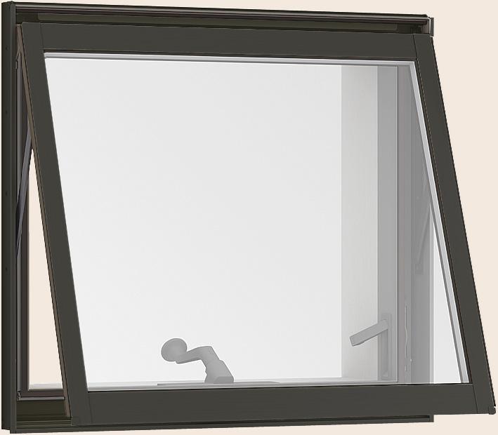 サーモスL 横すべり出し窓 オペレーターハンドル Low-E複層ガラス / アルミスペーサー仕様 07407 W:780mm × H:770mm LIXIL リクシル TOSTEM トステム