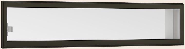 卸し売り購入 LIXIL W:640mm × リクシル:Clair(クレール)店 高所用横すべり出し窓 H:970mm サーモスL 06009 / オペレーターハンドル アルミスペーサー仕様 Low-E複層ガラス-木材・建築資材・設備