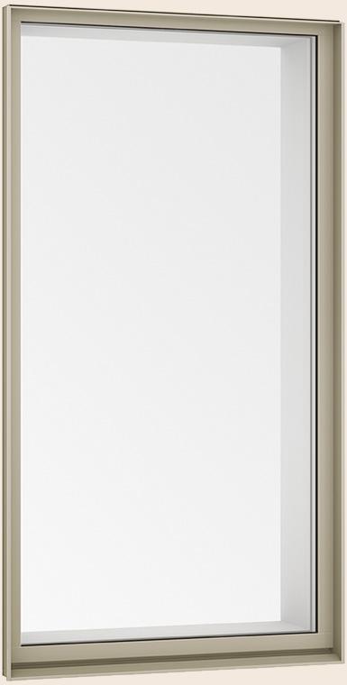 サーモスL FIX窓 外押縁タイプ 一般複層ガラス / アルミスペーサー仕様 041038 W:450mm × H:450mm LIXIL リクシル TOSTEM トステム
