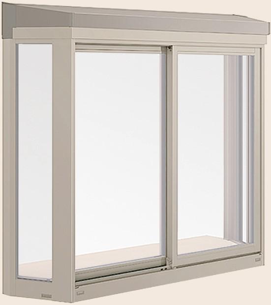 注目ブランド 居室用出窓 LB型 2枚建て サーモスLタイプ 一般複層ガラス / アルミスペーサー仕様 16511 W:1,690mm × H:1,170mm LIXIL リクシル TOSTEM トステム, dyna jewelry 03ab6548
