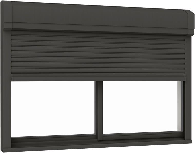 【限定製作】 防火戸サーモスX シャッター付引違い窓 2枚建て 電動 / 標準タイプ 複層ガラス仕様 13318 W:1,370mm × H:1,830mm LIXIL リクシル TOSTEM トステム, ロンドベル(LONDBELL) 730e9a89