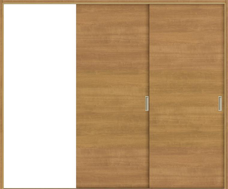 戸襖引戸 片引戸2枚建て BKD-LAB 鍵無し 洋室側引込み 在来工法 ケーシング付枠 標準枠 2420 W:2,432mm × H:2,038mm 新和風 LIXIL リクシル TOSTEM トステム DIY リフォーム