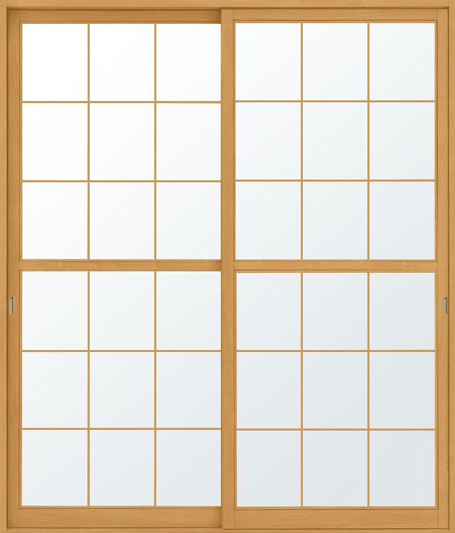 特注 和障子 吾妻障子 引違い戸 2枚建て SAHH-CA3 在来工法 W:1,076-1,864mm × H:1,530-2,045mm 新和風 DIY リフォーム