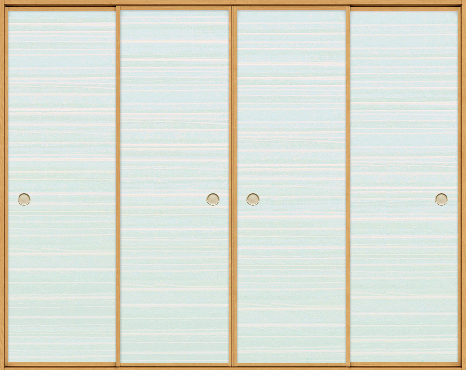 和襖 引戸 引き違い4枚建て SCHF-AF2 在来工法 ノンケーシング付枠 2520 W:2,556mm × H:2,038mm 新和風 LIXIL リクシル TOSTEM トステム DIY リフォーム