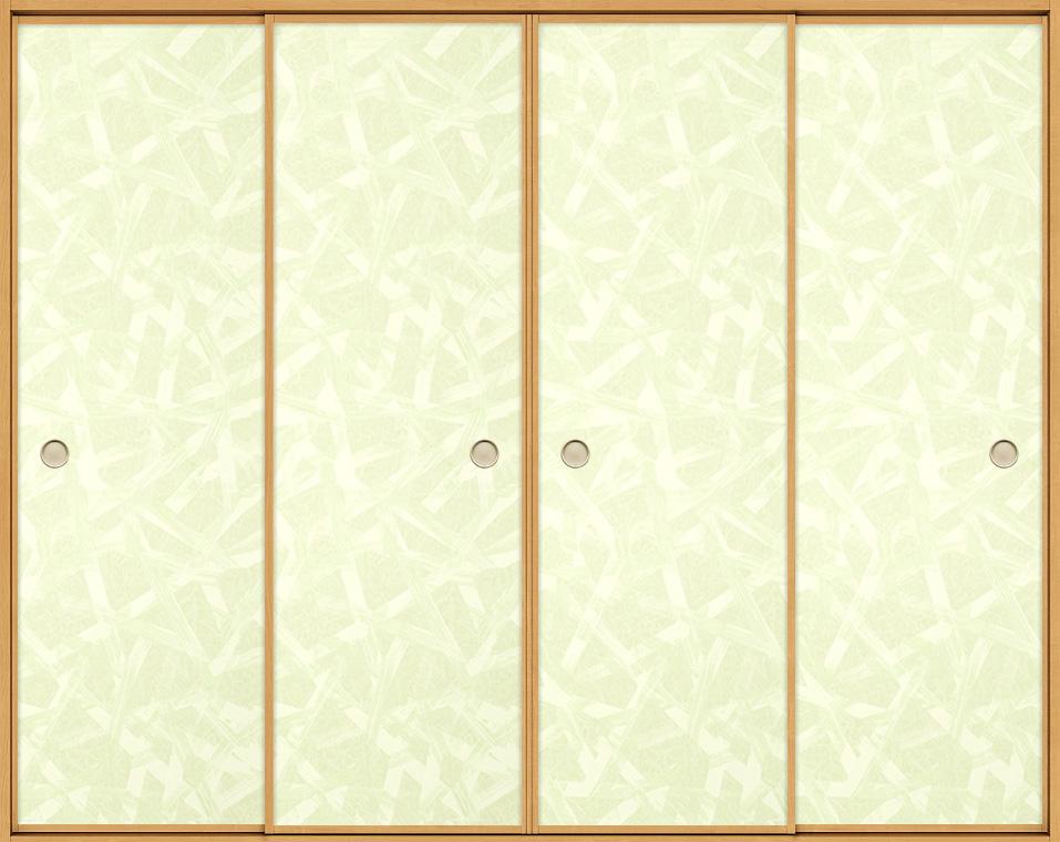 和襖 引戸 引き違い4枚建て SCHF-AF4 在来工法 ノンケーシング付枠 2520 W:2,556mm × H:2,038mm 新和風 LIXIL リクシル TOSTEM トステム DIY リフォーム