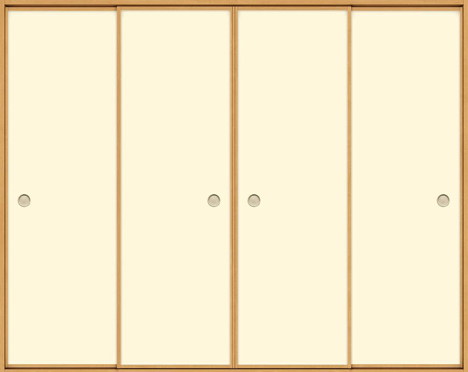 和襖 引戸 引き違い4枚建て SCHF-AF5 在来工法 ノンケーシング付枠 2520 W:2,556mm × H:2,038mm 新和風 LIXIL リクシル TOSTEM トステム DIY リフォーム
