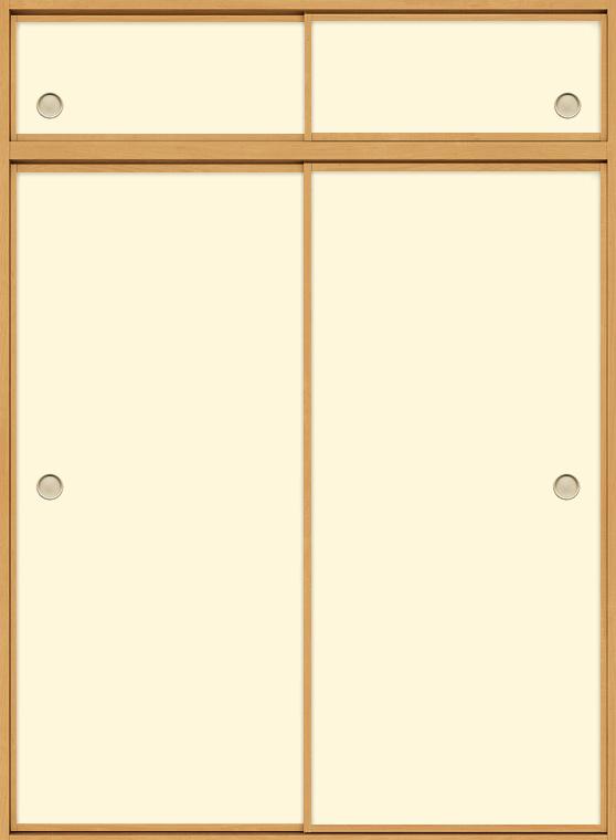 和襖 引戸 引き違い2枚建て SCHH-AF5 在来工法 ノンケーシング付枠 天袋付き 1622 W:1,644mm × H:2,238mm 新和風 LIXIL リクシル TOSTEM トステム DIY リフォーム