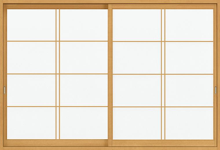 和障子 紙貼障子 サーモス用 引違い戸 2枚建て SKHHS-CA1 大荒吹寄 在来工法 窓タイプ 16013 W:1,610mm × H:1,348mm 新和風 LIXIL リクシル TOSTEM DIY リフォーム