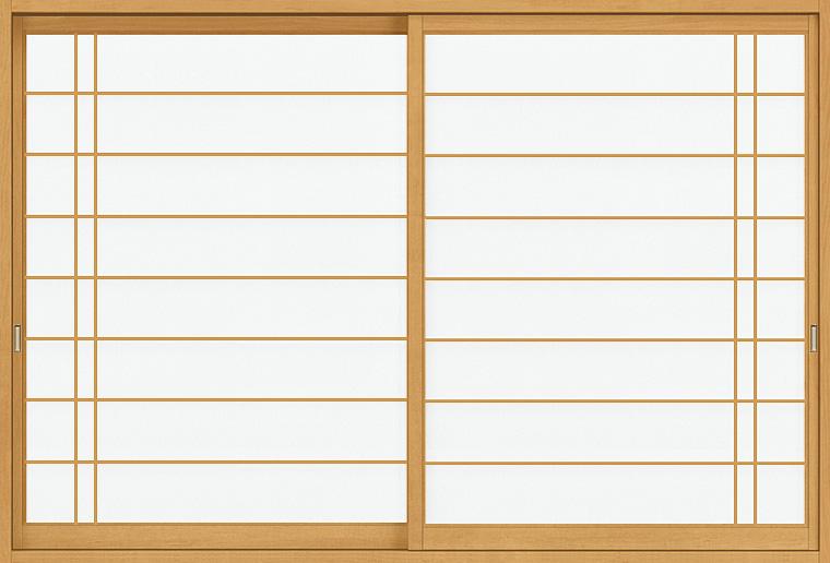 和障子 紙貼障子 サーモス用 引違い戸 2枚建て SKHHS-CA2 片吹寄 2×4工法 窓タイプ 16013 W:1,610mm × H:1,348mm 新和風 LIXIL リクシル TOSTEM DIY リフォーム
