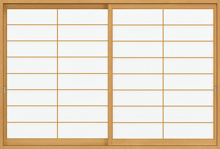 和障子 紙貼障子 サーモス用 引違い戸 2枚建て SKHHS-CA4 横繁 2×4工法 窓タイプ 16009 W:1,610mm × H:948mm 新和風 LIXIL リクシル TOSTEM DIY リフォーム