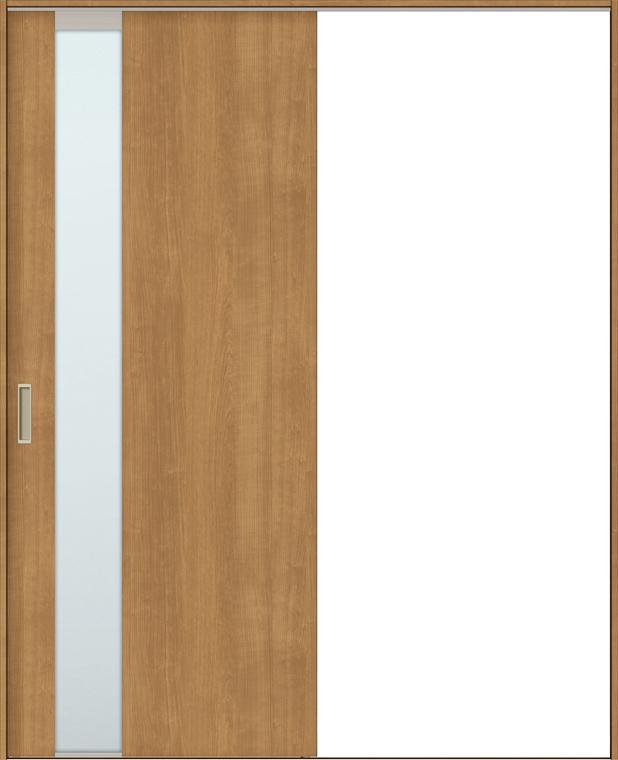 TA 室内引戸 Vレール方式 片引戸標準タイプ 鍵なし DSKH-EGT 特注サイズ W:1,160~1,964mm × H:1,728~2,425mm ノンケーシング枠 固定枠 LIXIL TOSTEM DIY リフォーム