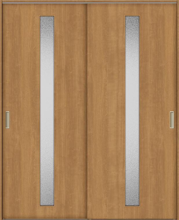 TA 室内引戸 Vレール方式 引違い戸2枚建て 鍵なし DSHH-EGA 1620 W:1,644mm × H:2,023mm ノンケーシング枠 固定枠 LIXIL リクシル TOSTEM トステム DIY リフォーム