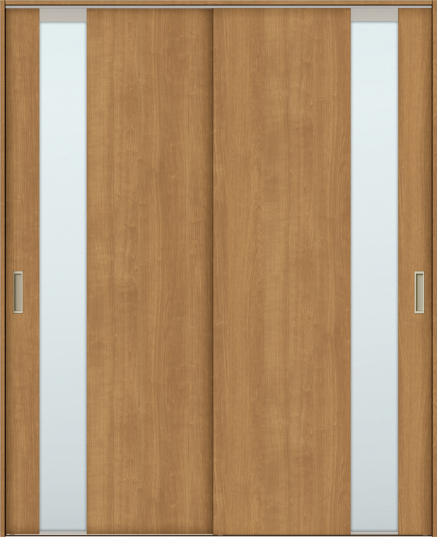 TA 室内引戸 Vレール方式 引違い戸2枚建て 鍵なし DSHH-EGT 1620 W:1,644mm × H:2,023mm ノンケーシング枠 固定枠 LIXIL リクシル TOSTEM トステム DIY リフォーム