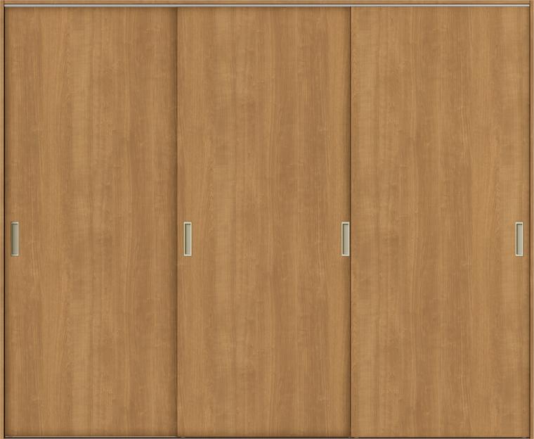 TA 室内引戸 Vレール方式 引違い戸3枚建て 鍵なし DSHT-EAA 2420 W:2,462mm × H:2,023mm ノンケーシング枠 固定枠 LIXIL リクシル TOSTEM トステム DIY リフォーム