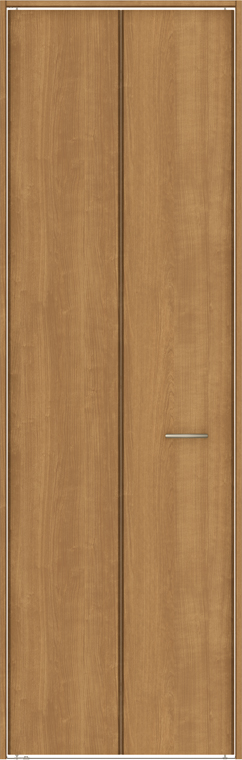 TA クローゼットドア 折戸レールタイプ 2枚折戸 DSCP-EAA 0720 W:734mm × H:2,023mm ノンケーシング枠 固定枠 LIXIL リクシル TOSTEM トステム DIY リフォーム