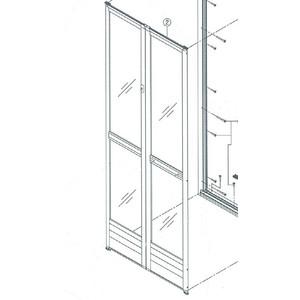 問い合わせオーダー品 INAX 浴室折れ戸 扉のみ VDY-8002032(54)/W-S 160809 DIY リフォーム