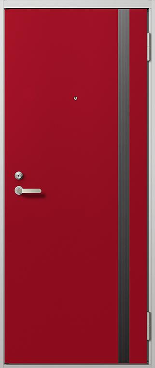 リジェーロα 14型 ランマなし K2 / K3 / 1ロック仕様 特注寸法 W:705~841mm H:1,912mm アパート 玄関 ドア リクシル LIXIL DIY リフォーム