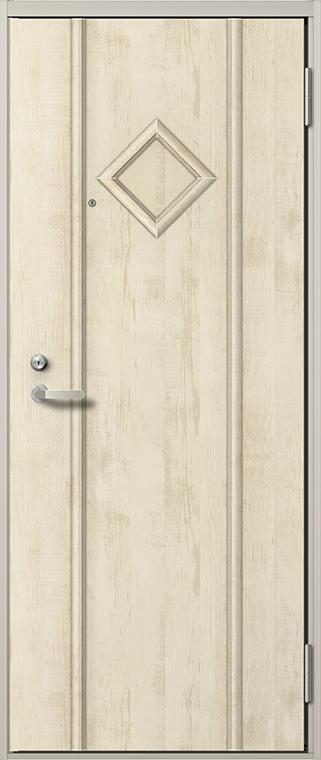リジェーロα 22型 ランマなし K2 / K3 / 1ロック仕様 特注寸法 W:785~841mm H:1,712~2,118mm アパート 玄関 ドア リクシル LIXIL DIY リフォーム