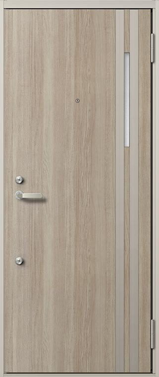 リジェーロα 31型 ランマなし K2 / K3 / 2ロック仕様 特注寸法 W:705~841mm H:1,712~2,118mm アパート 玄関 ドア リクシル LIXIL DIY リフォーム