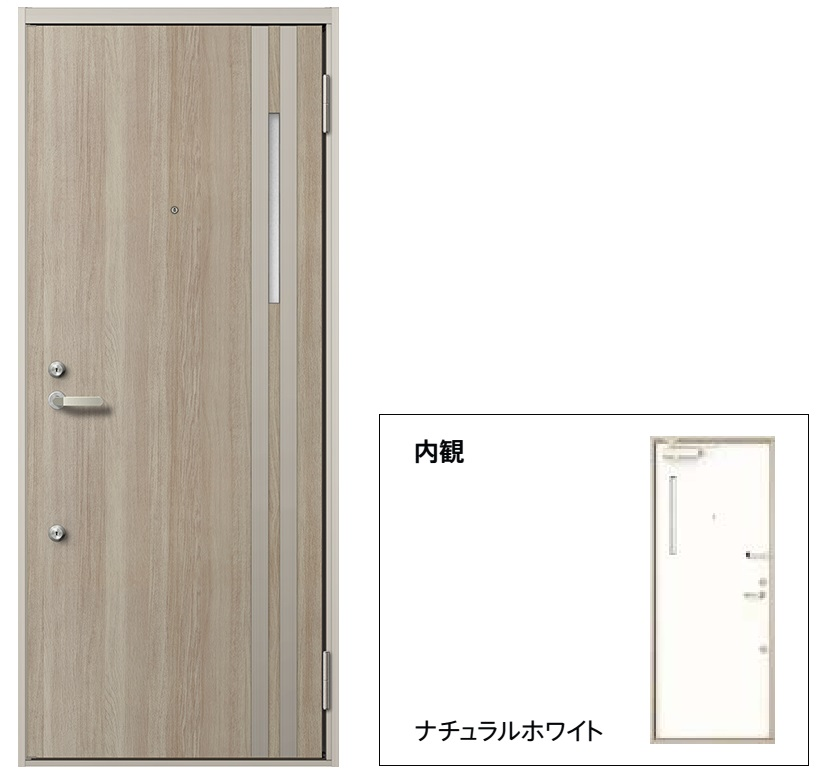 玄関 ドア アパートドア リクシル リジェーロα ランマ無 K2仕様 2ロック 31型 W785×H1912 DIY リフォーム