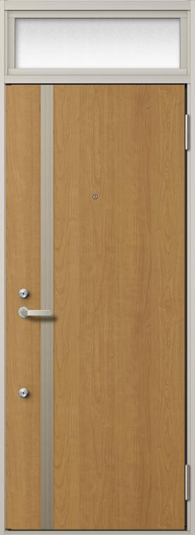 玄関 ドア アパートドア リクシル リジェーロα ランマ付き K4仕様 1ロック 12型 W:785mm × H:2,225mm DIY リフォーム