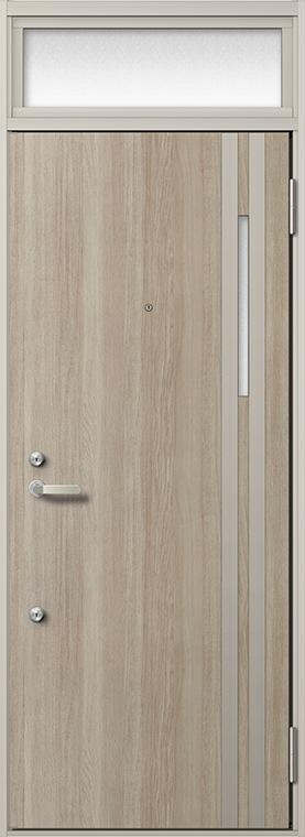 玄関 ドア アパートドア リクシル リジェーロα ランマ付き K6仕様 1ロック 31型 W:785mm × H:2,225mm DIY リフォーム