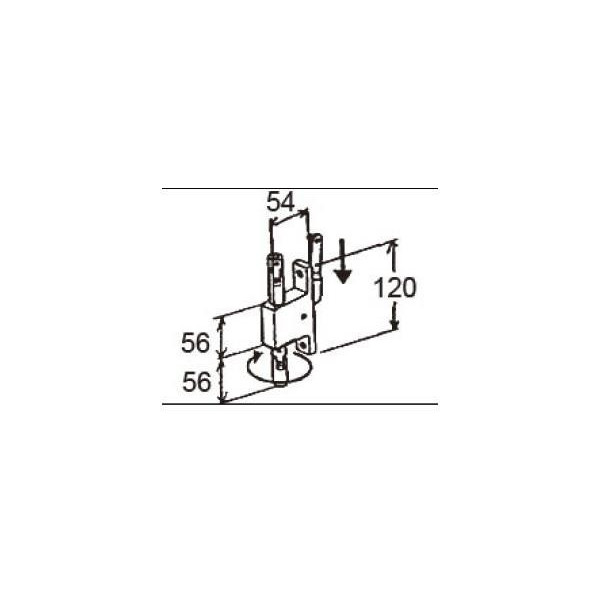 リクシル 窓・サッシ用部品 錠 装飾窓 オペレーター:クランク式オペレーター AGCZ124 LIXIL トステム メンテナンス DIY リフォーム