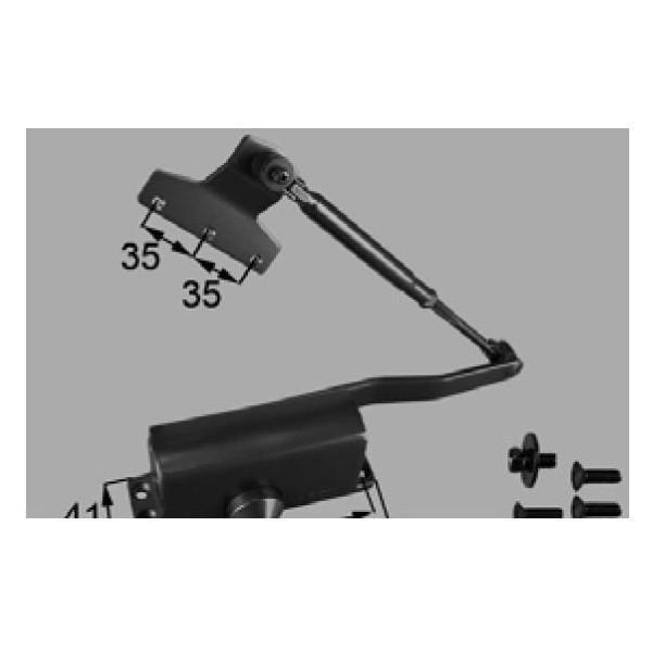 リクシル 部品 ドアクローザ AZWB589 色 ブロンズ LIXIL トステム メンテナンス DIY リフォーム