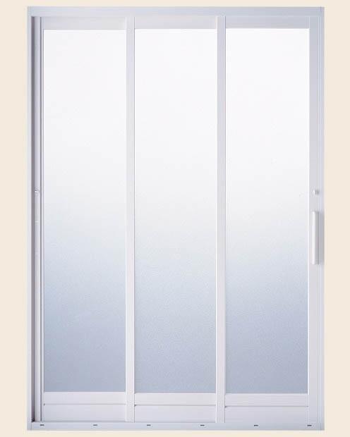 BF浴室3枚引戸 バーハンドルタイプ 樹脂パネル仕様 呼称1618 [W:1612mm×H:1818mm] LIXIL リクシル TOSTEM トステム