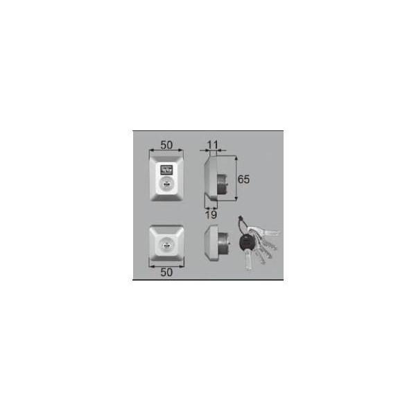 リクシル ドア・引戸用部品 錠 玄関・店舗・勝手口・テラスドア ロック:シリンダーセットDN D5GZ3002 LIXIL トステム メンテナンス DIY リフォーム