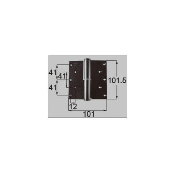リクシル ドア・引戸用部品 丁番 玄関・店舗・勝手口・テラスドア:丁番 プレナス用右吊 R DCFZ715 LIXIL トステム メンテナンス DIY リフォーム