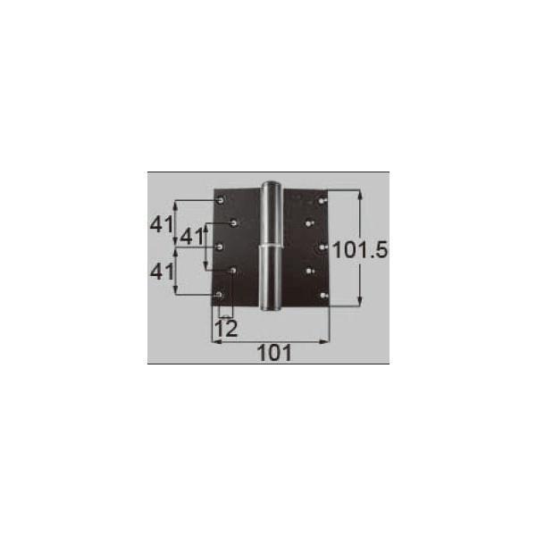 リクシル ドア・引戸用部品 丁番 玄関・店舗・勝手口・テラスドア:丁番 プレナス用左吊 L DCLZ716 LIXIL トステム メンテナンス DIY リフォーム