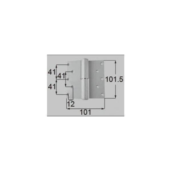 リクシル ドア・引戸用部品 丁番 玄関・店舗・勝手口・テラスドア:丁番II型 プレナス用左吊 R DCLZ813 LIXIL トステム メンテナンス DIY リフォーム