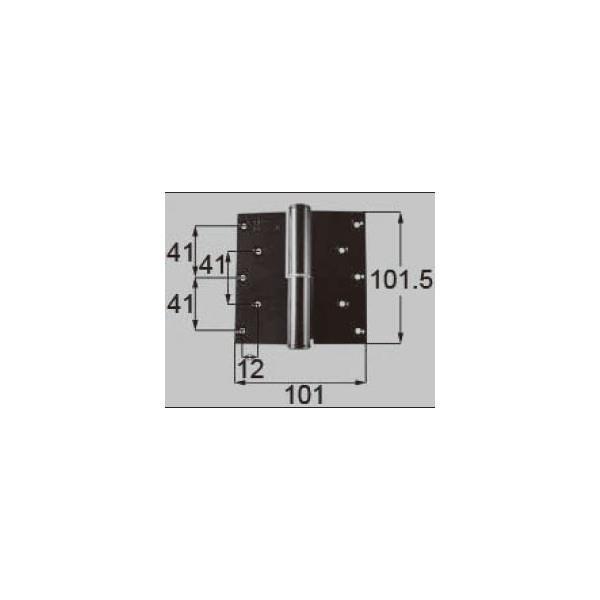 リクシル ドア・引戸用部品 丁番 玄関・店舗・勝手口・テラスドア:丁番II型 プレナス用右吊 R DCLZ815 LIXIL トステム メンテナンス DIY リフォーム