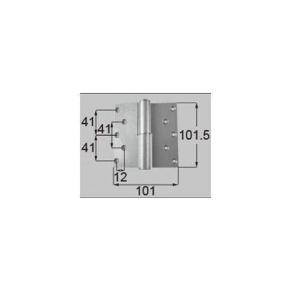 リクシル ドア・引戸用部品 丁番 玄関・店舗・勝手口・テラスドア:丁番II型 プレナス用右吊 R DCLZ817 LIXIL トステム メンテナンス DIY リフォーム