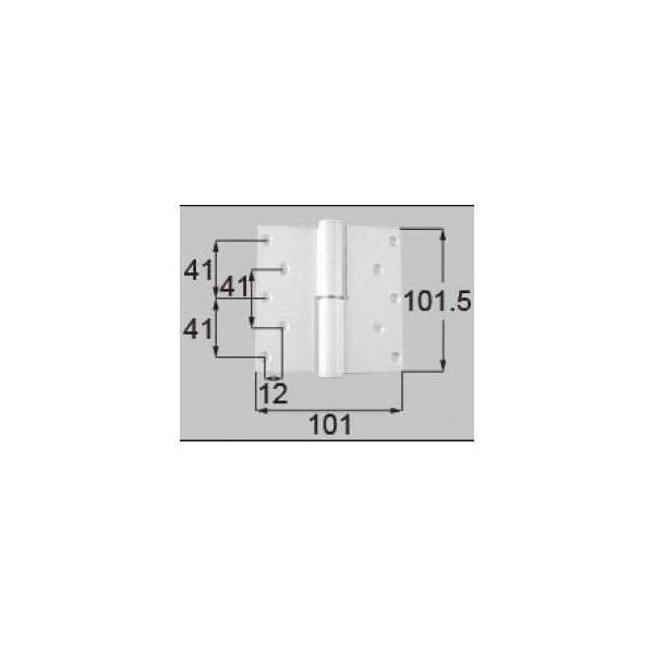 リクシル ドア・引戸用部品 丁番 玄関・店舗・勝手口・テラスドア:丁番II型 プレナス用左吊 L DCLZ819 LIXIL トステム メンテナンス DIY リフォーム