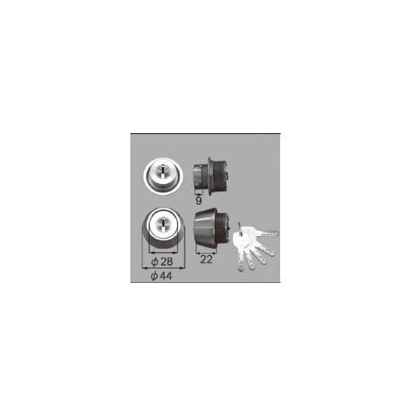 リクシル ドア・引戸用部品 錠 玄関・店舗・勝手口・テラスドア ロック:シリンダーセットJN内筒のみ DCZZ1028 LIXIL トステム メンテナンス DIY リフォーム