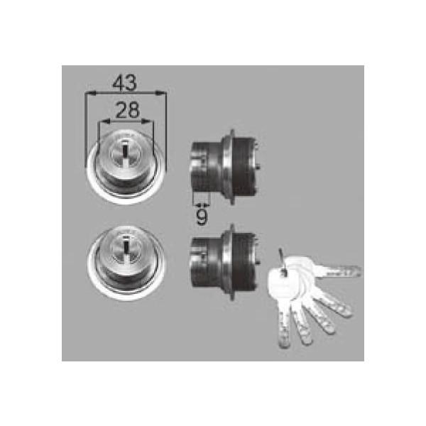 リクシル 部品 シリンダーセットJN DCZZ1026 LIXIL トステム メンテナンス DIY リフォーム