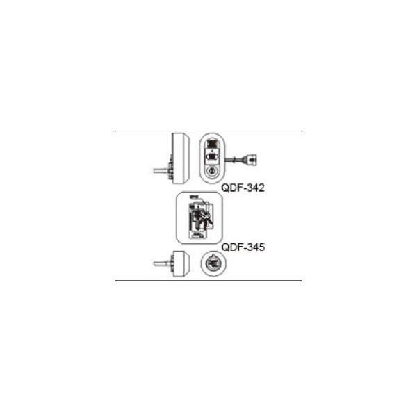 リクシルドア・引戸用部品 錠 玄関・店舗・勝手口:タッチ付 ニュートラル)シリンダーセット簡易電気防犯アラーム DEZZ121 DEZZ322 / DEZZ422の代替品 LIXIL DIY リフォーム