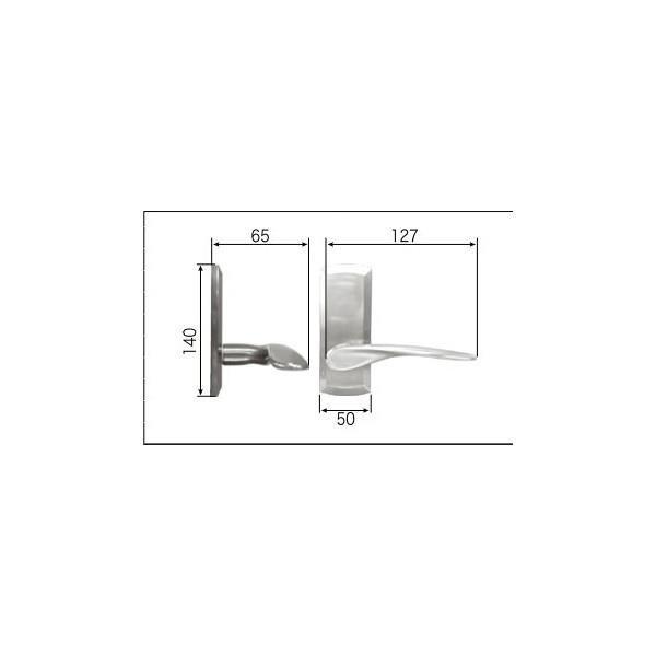 リクシル リビング建材用部品 ドア ハンドル:ラウンドAタイプ空錠 FNMZ421 LIXIL トステム メンテナンス DIY リフォーム