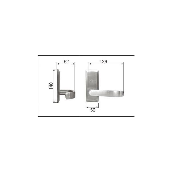リクシル リビング建材用部品 ドア ハンドル:ラウンドBタイプ簡易錠 FNMZ427 LIXIL トステム メンテナンス DIY リフォーム