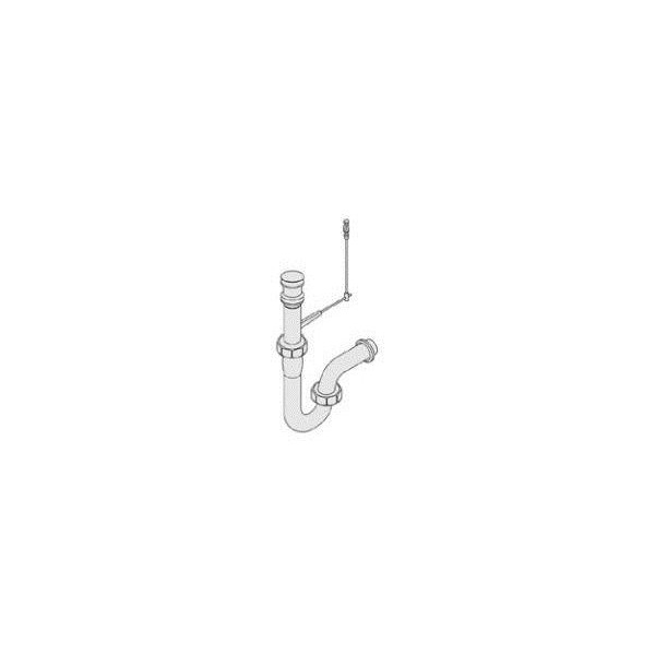 リクシル 住器用部品 洗面 排水 排水オプション:金属配管 壁出し用Pトラップ KAAKQZZ9100 LIXIL トステム メンテナンス DIY リフォーム