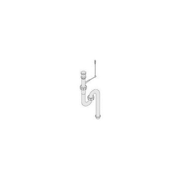 リクシル 住器用部品 洗面 排水 排水オプション:金属配管 床出し用Sトラップ KAAKQZZ9200 LIXIL トステム メンテナンス DIY リフォーム