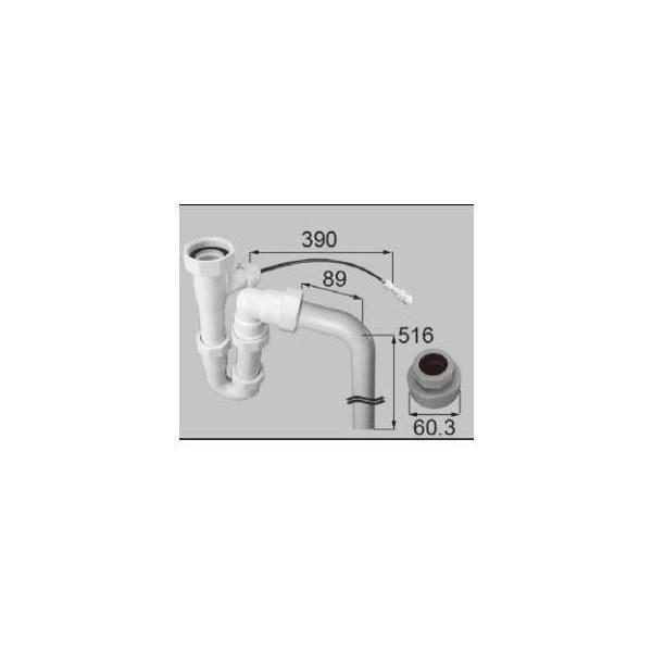 リクシル 住器用部品 洗面 排水 排水オプション:品確法排水ユニット SF50A KALAA010 LIXIL トステム メンテナンス DIY リフォーム