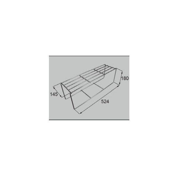 リクシル 住器用部品 キッチン トップカウンター カウンター付属・施工部品:コンロ用サイド棚ST15 KKCXZ009 LIXIL トステム メンテナンス DIY リフォーム